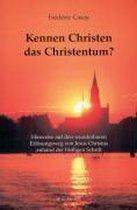 Kennen Christen das Christentum?