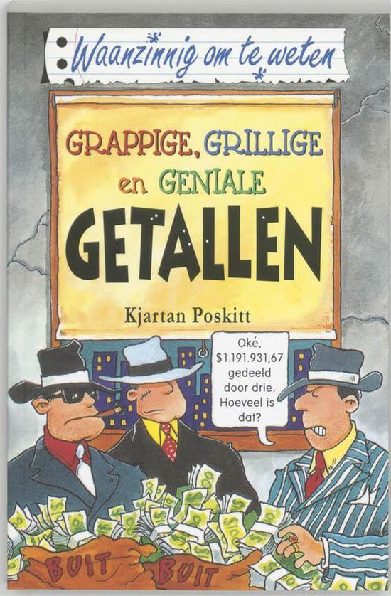 Grappige, grillige en geniale getallen - Kjartan Poskitt |