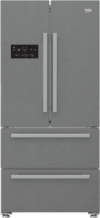 Koelkast: Beko GNE60530X - Amerikaanse koelkast, van het merk Beko