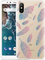 Xiaomi Mi A2 Hoesje Feathers