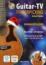 Guitar-TV: Fingerpicking - Weihnachtslieder (mit DVD)