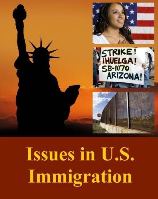 Boek cover Issues in U.S. Immigration van Salem Press