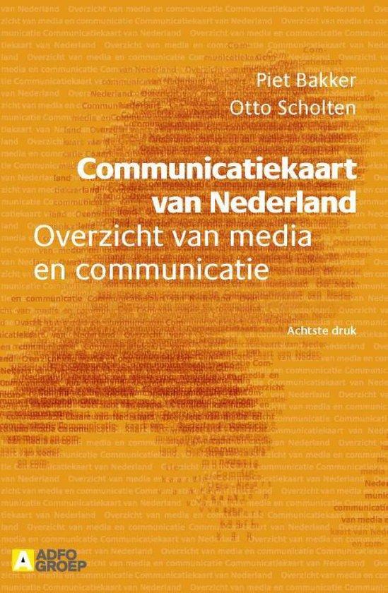 Communicatiekaart van Nederland - Piet Bakker |