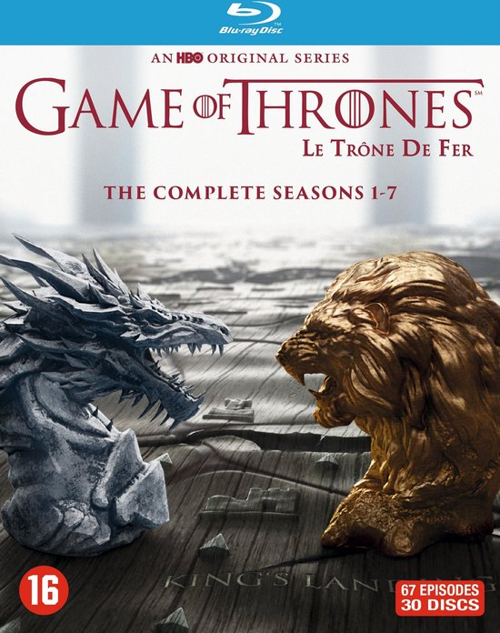Game Of Thrones - Seizoen 1 t/m 7 (Blu-ray)