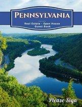 Pennsylvania Real Estate Open House Guest Book