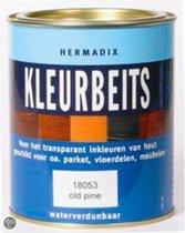 Hermadix Transparante Kleurbeits - 0,25 liter - Antiek Grijs