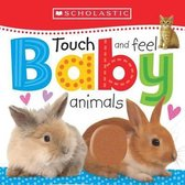 Boek cover Touch and Feel Baby Animals van Scholastic