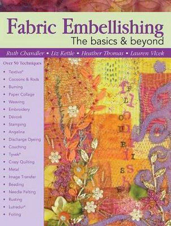 Boek cover Fabric Embellishing van Ruth Chandler (Paperback)