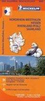 Michelin Regionalkarte Nordrhein-Westfalen / Hessen / Rheinland-Pfalz / Saarland 1 : 350 000
