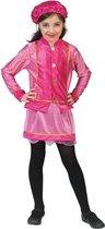 Piet kostuum kind 6 jaar roze/goud maat 116