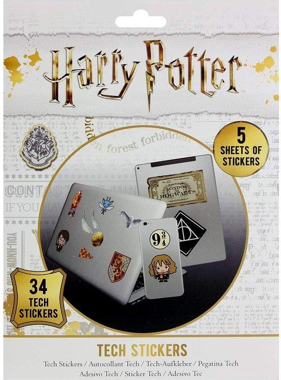 Harry Potter - 34 Tech Stickers