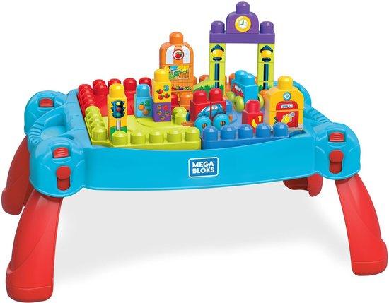 Mega Bloks Bouw en Leer Speeltafel Blauw