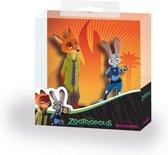 Walt Disney Zootropolis D.P. Nick & Judy