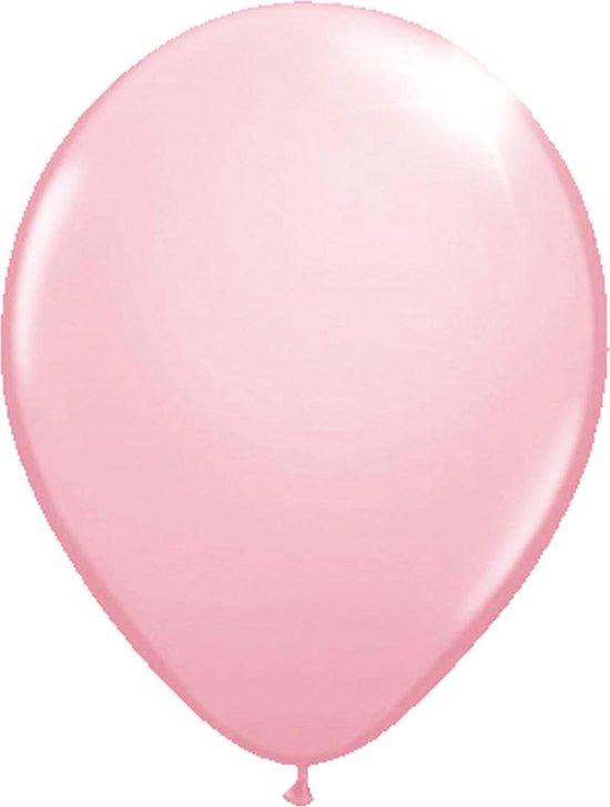 Roze Metallic Ballonnen 30cm - 100 stuks