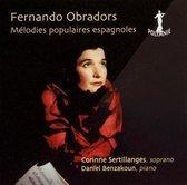 Obradors Fernando - Melodies Populaires Espagnoles
