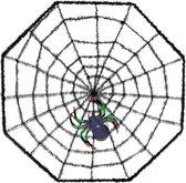 Halloween - Spinnenweb 38 x 38 cm halloween horror versiering met spin