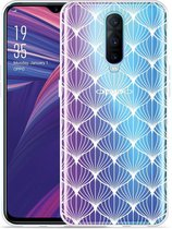 Oppo RX17 Pro Hoesje White Abstract Pattern
