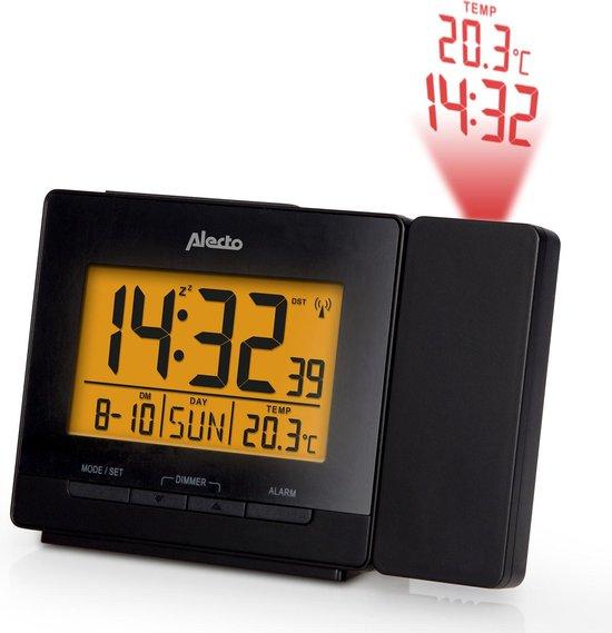Alecto AK-50 Digitale wekker met projector voor tijd en temperatuur