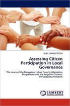 Assessing Citizen Participation in Local Governance