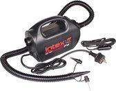 Intex 68609 - QuickFill® elektrische luchtpomp - 12V & 220V - met 3 mondstukken - blazen & zuigen - Zwart