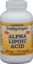 Alfa liponzuur 600 mg (150 Capsules) - Healthy Origins
