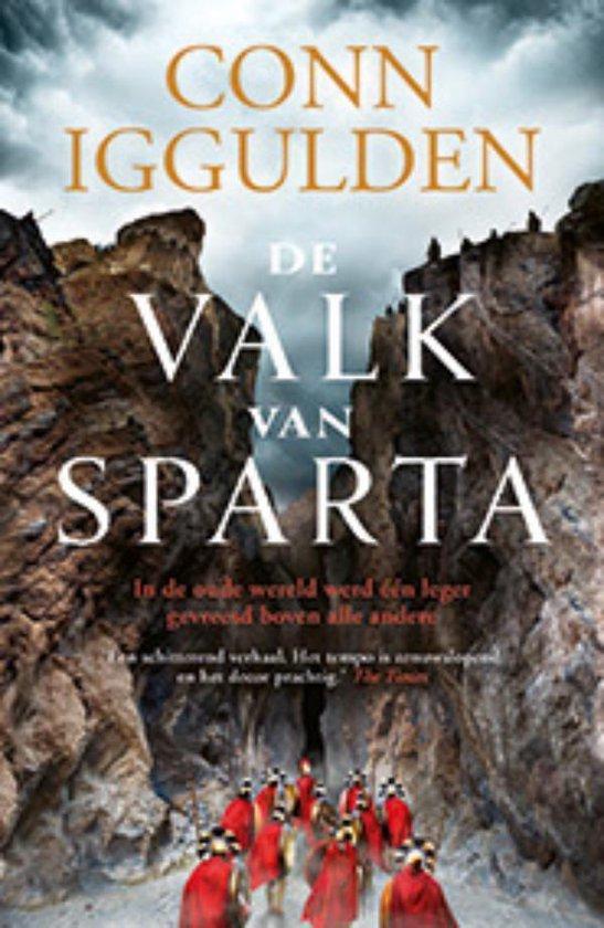 Boek cover De valk van Sparta van Conn Iggulden (Paperback)