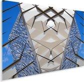 Prachtige afbeelding van de Titanic Belfast Plexiglas 40x30 cm - klein - Foto print op Glas (Plexiglas wanddecoratie)
