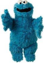 Living Puppets - Handpop - Sesamstraat - Cookiemonster - Koekiemonster - 65cm