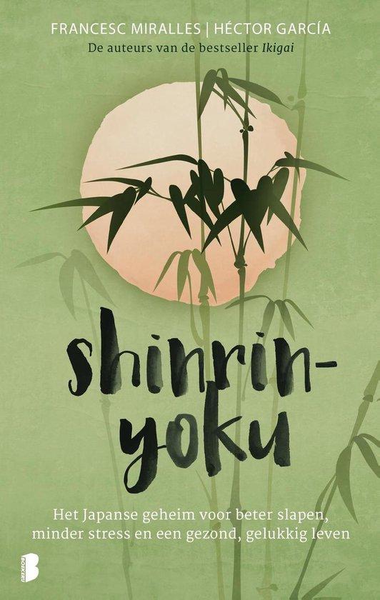 Boek cover Shinrin-yoku van Héctor Garcia (Onbekend)