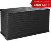 Toomax kussenbox Rotan 420L - 120x57x63cm - Antraciet -  opbergbox voor tuinkussens