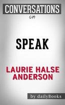 Boek cover Conversations on Speak By Laurie Halse Anderson van Dailybooks
