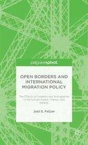 Boek cover Open Borders and International Migration Policy van J. Fetzer