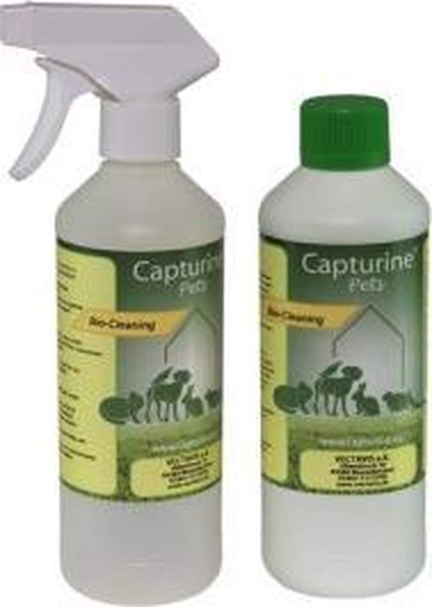Capturine Pets Bio Cleaning 500 ml. starterspakket