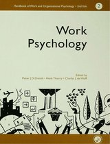 A Handbook of Work and Organizational Psychology