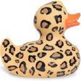Luxury LEOPARD (new design 2017)  Duck van Bud Duck: Mooiste Design badeend ter Wereld