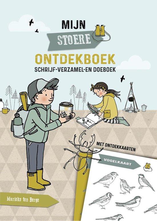 Kinderboeken De Fontein Natuur - Mijn stoere ontdekboek. 6+ - Marieke ten Berge  