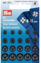 Prym Drukker 6-11mm Zwart