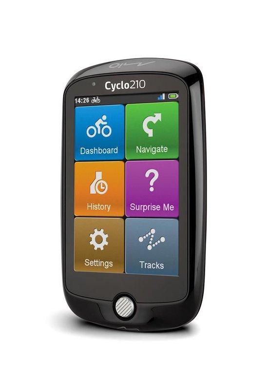 Mio Cyclo 210 Fietscomputer - Zwart