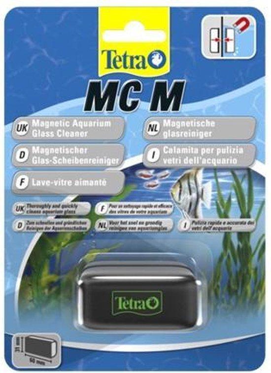 Tetra algenmagneet voor zuiver glas maat M 60x31mm