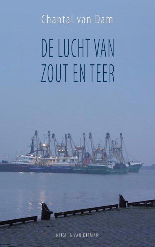Cover van het boek 'De lucht van zout en teer' van C. van Dam