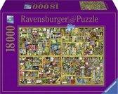 Ravensburger Puzzel - Colin Thompson: Magical Bookcase - 18000 stukjes