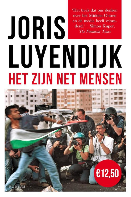 Boek cover Het zijn net mensen van Joris Luyendijk (Paperback)