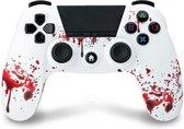 Under Control PS4 bluetooth controller met koptelefoon aansluiting - zombie
