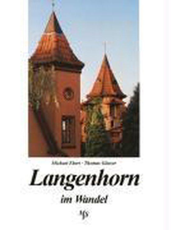Omslag van Langenhorn im Wandel in alten und neuen Bildern
