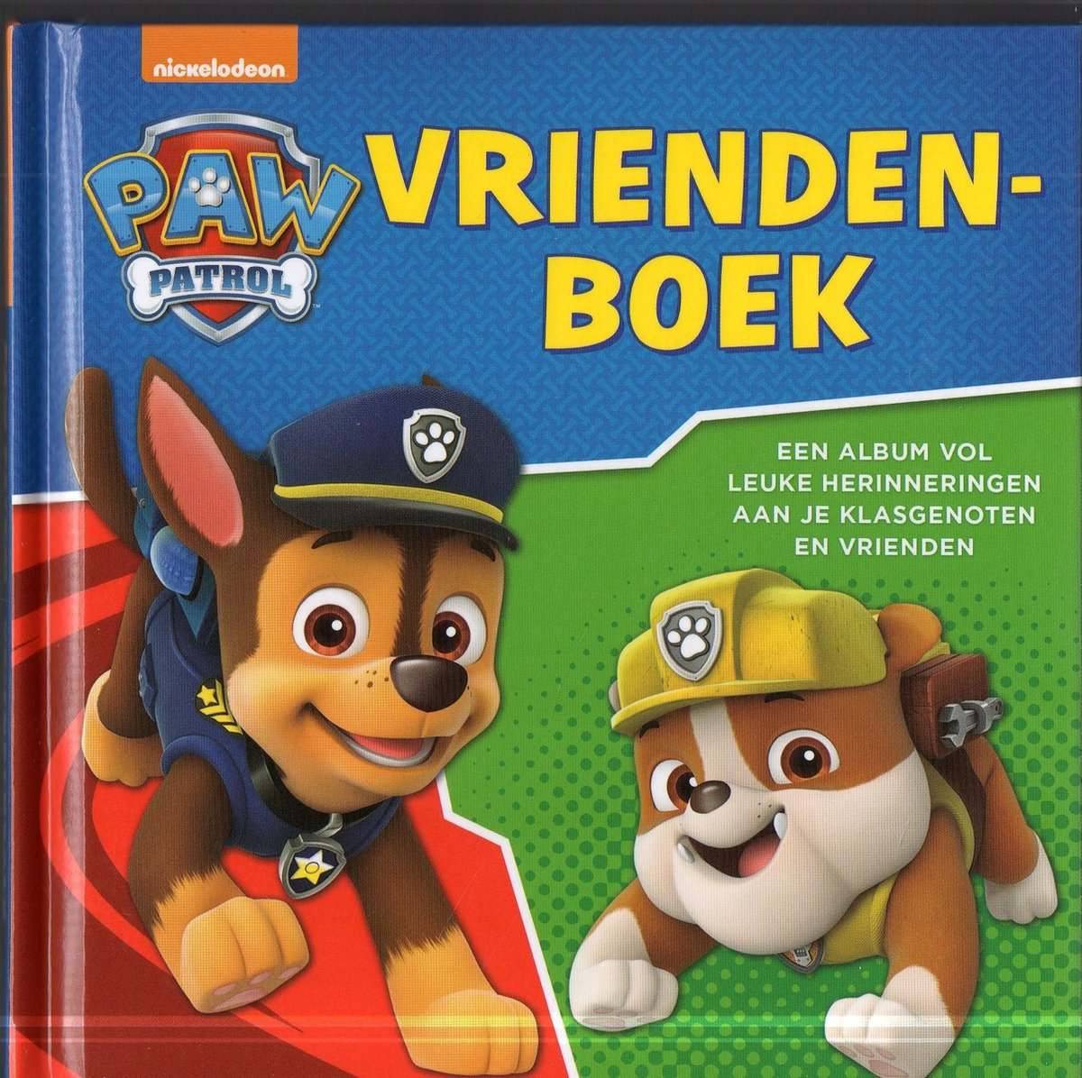 Paw Patrol vriendenboek Nick - Diverse