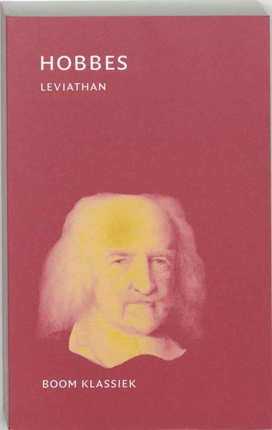 Boek cover Leviathan van Thomas Hobbes (Paperback)