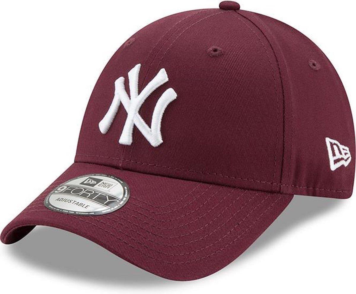 New Era MLB League Essential 940 NY Yankees Cap - 9FORTY - OSFA - Dark Purple