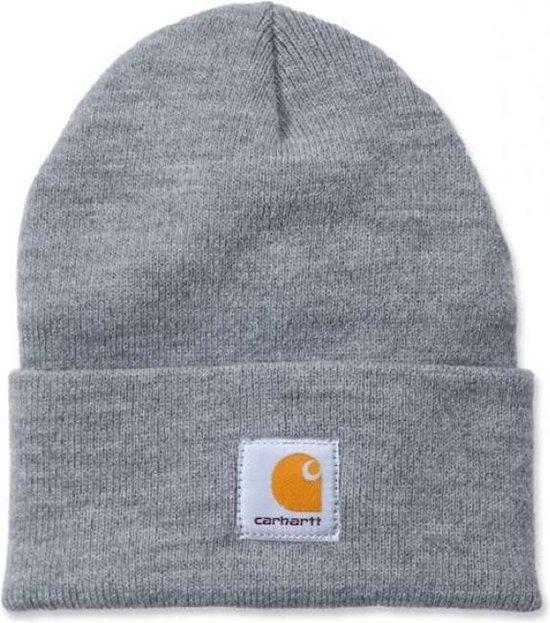 Carhartt Muts Acrylic Watch Hat grijs - Beanie
