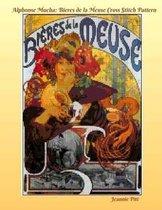 Alphonse Mucha Cross Stitch Pattern Book