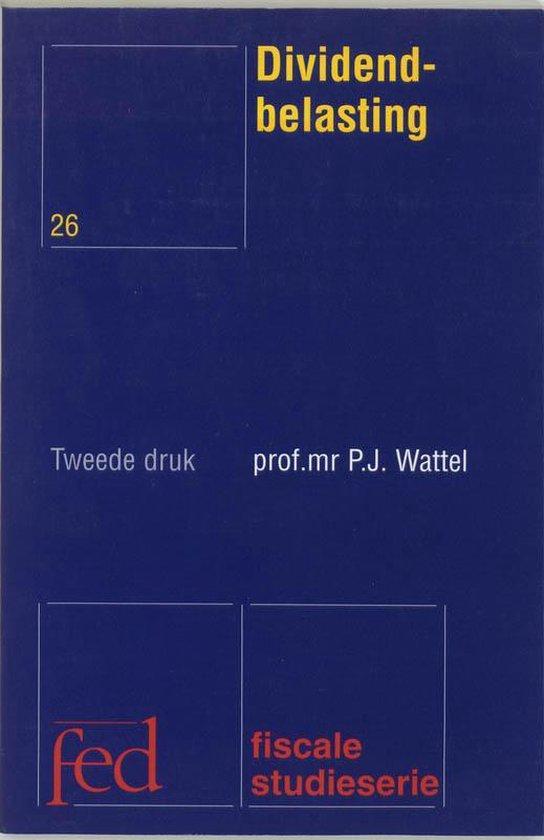 Dividendbelasting - P.J. Wattel  